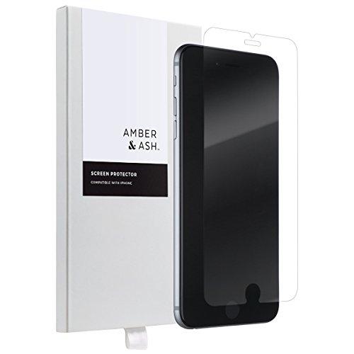 iPhone 6/ 6S Pellicola Protettiva Amber & Ash 2 Pack in Vetro Temperato Screen Protector Film Ultra Resistente, (Durezza 9H, 0,33mm HD Alta trasparente) Pellicola Vetro Apple iPhone 6s/6 iPhone 6 plus/6s plus protector