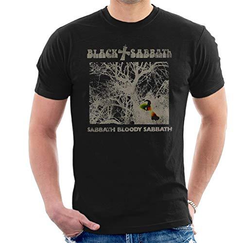 Black Sabbath Sabbath Bloody Sabbath Vintage Manga Corta De Los...