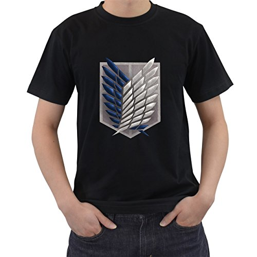 Anime Attack on Titan Survey Legion Logo camiseta manga corta por saink...