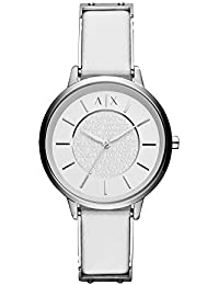 Armani Exchange Olivia Analog White Dial Women's Watch - AX5300