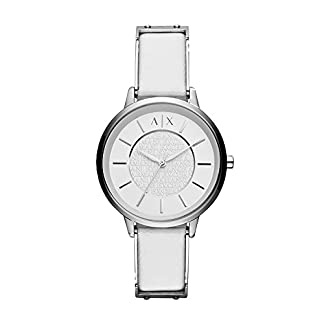Armani Exchange Olivia Analog White Dial Women's Watch – AX5300