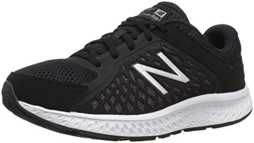 New Balance W420V4, Scarpe Running Donna, Nero (Black/Silver), 40 EU