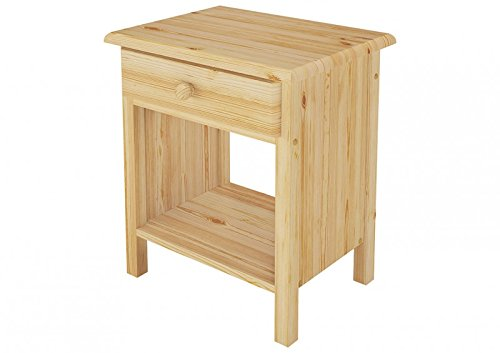 Erst-Holz® 90.20-K0 Nachttisch Kiefer massiv (Kiefer-holz-nachttisch)