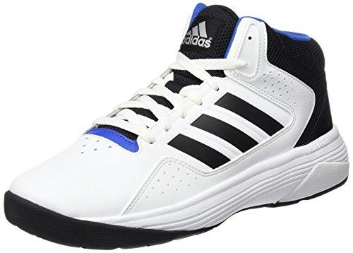 adidas Herren Cloudfoam Ilation Mid Basketballschuhe Elfenbein (Ftwbla/negbas/plamat)