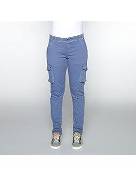 Berg Outdoor Dunns Pantalones, Mujer, Azul, S