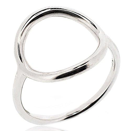 Sovats Damen Offener Kreis-Ring, Größe 60 (Der Kreis Der Anfang)