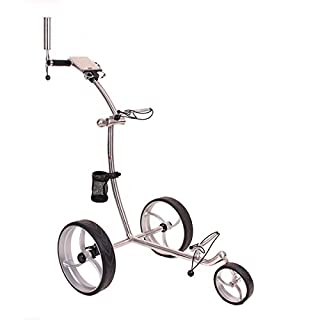 Caddyone Edelstahl Pushtrolley S10
