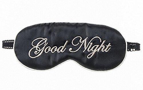 Double cache oeil/cache oeil pour dormir, Noir