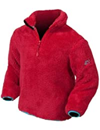 Target Dry Flutterby Girls Fleece (3-4 Years, Tulip Red)