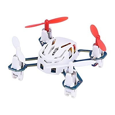 Mini Drone For Kids, Plastic RC Quadcopter Altitude Hold Helicopter Toy with LED Light