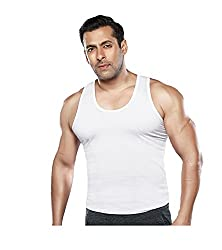 Dixcy Scott Mens Seleveless Cotton Vest Pack of 6 (Size :100 CM)
