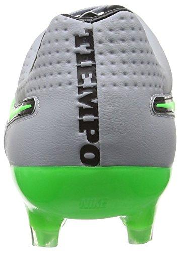 Nike Tiempo Legend V Fg, Chaussures de Running Entrainement Homme Gris (Grau/Grün)