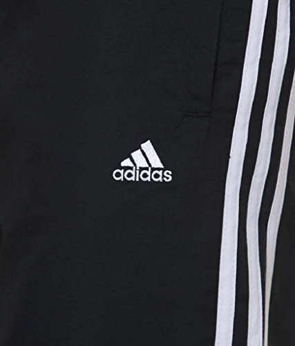 Adidas Black Polyester Tracksuit For men