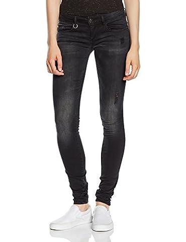 ONLY Damen Skinny Jeanshose Onlcoral Sl Dnm Jeans Bj5783 Noos, Gr. W27/L32 (Herstellergröße: 27), Schwarz