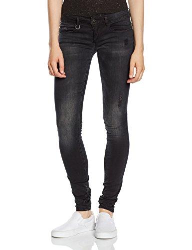ONLY Damen Skinny Jeanshose Onlcoral Sl Dnm Jeans Bj5783 Noos, Gr. W28/L32 (Herstellergröße: 28), Schwarz (Jeans Dunkle Hose)