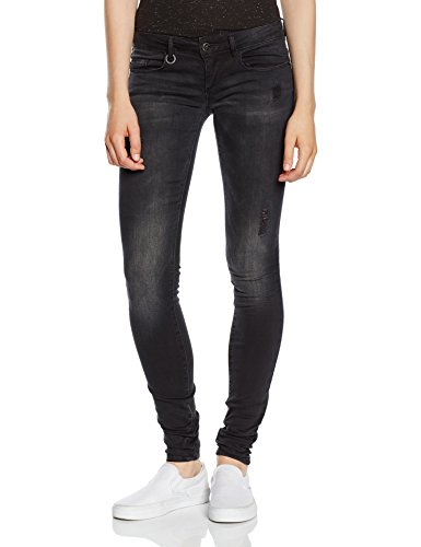 ONLY Damen Skinny Jeanshose Onlcoral Sl Dnm Jeans Bj5783 Noos, Gr. W32/L32 (Herstellergröße: 32), Schwarz