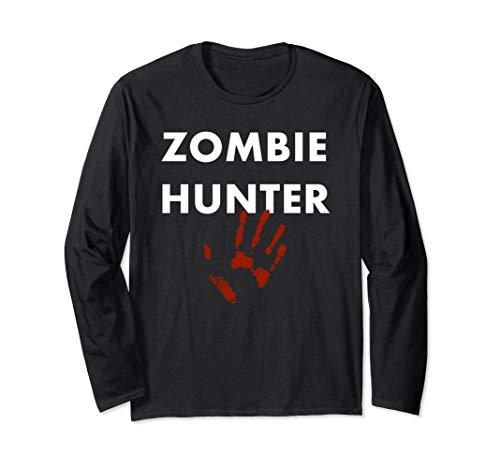 Hunter Zombie Kostüm - Zombie Hunter Halloween Kostüm Langarmshirt