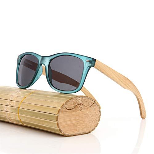 DAIYSNAFDN Holz Sonnenbrille Männer Vintage Designer Frauen Bambus Sonnenbrille Original Eyewear Sommer Same Pictures 11