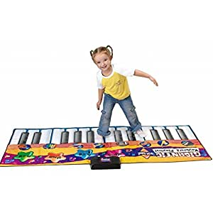 Piano géant, tapis musical