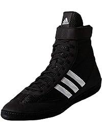 adidas - Zapatillas de Lucha Libre para Hombre Negro Negro