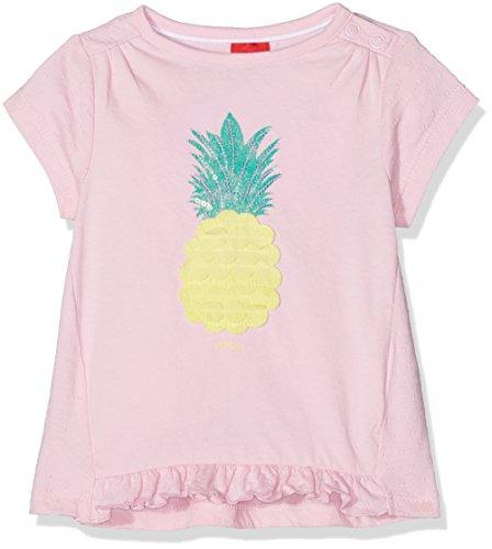 s.Oliver Baby-Mädchen T-Shirt Kurzarm, Rosa (Light Pink 4106), 86 (Kurzarm-shirt Junior)