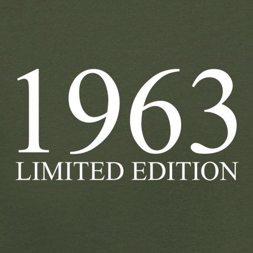 1963 Limierte Auflage / Limited Edition - 54. Geburtstag - Herren T-Shirt - 13 Farben Olivgrün