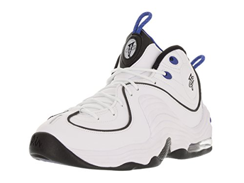 Nike Herren Air Penny Ii Basketballschuhe, Talla Blanco (White / Black-Varsity Royal-Blk)