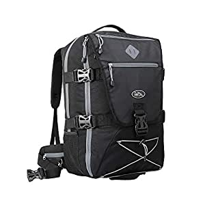Cabin Max® Womens/Mens Backpacks - Perfect Hiking Backpack - Cabin Luggage 54x36x23cm fits EasyJet and Jet2 - laptop slot and integrated rain cover!