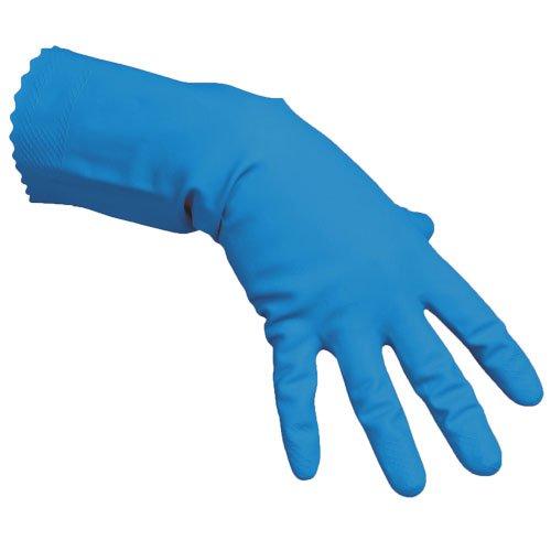 Vileda Handschuhe Multipurpose Der Feine Naturlatex blau Größe S