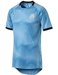 PUMA Olympique de Marseille Graphic Jersey with Sponsor Logo Maillot  Hombre e5b9cb1ed4426