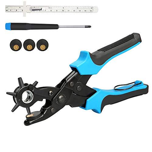 E·Durable Sacabocados Agujero Cinturon Perforadora
