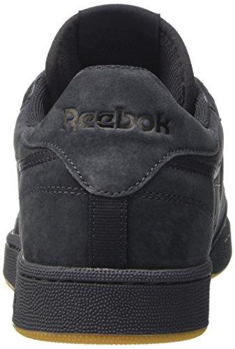 Reebok Herren Club C 85 Tg Sneakers Grau (Lead/black-gum)