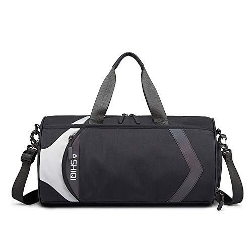 XXJF Männer und Frauen Reisetaschen trocken und nass Trennung Düffel-Beutel wasserdichte Sport-Training Bag Handtaschen, Reisetaschen Lässige Schultertasche Yoga Schwimmsporttasche