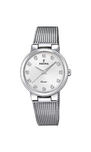 Festina Women's Analogue Quartz Watch with Stainless Steel Strap F16965/3
