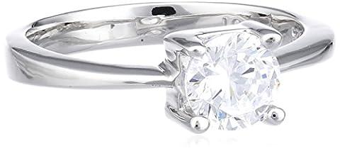 Joop Damen-Ring mit Zirkonia weiß Gr.51 JPRG90053A510