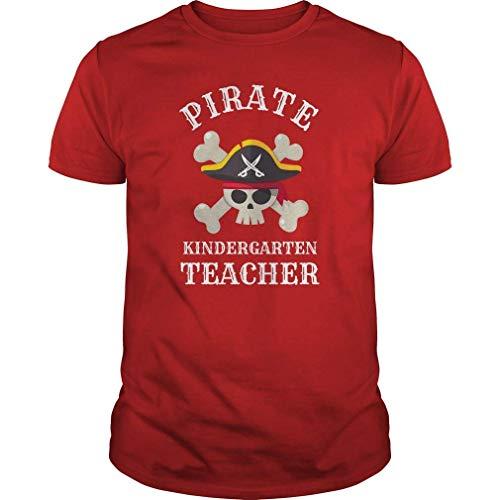 Pirate Kindergarten Teacher Halloween T Shirt S (Halloween-kindergarten Aktivitäten Wissenschaft Für)
