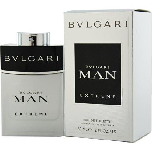 Bulgari Man Extreme Eau de toilette Spray 60 ml Uomo - 60 ml