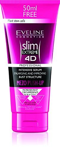 Eveline Cosmetics Slim Extreme 4D Intensiv Serum, Vergrößerung und die Verbesserung der Struktur der Büste Mezo Push-Up, 1er Pack (1 x 200 ml)
