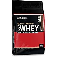 Optimum Nutrition Gold Standard 100% Whey Proteína en Polvo, Doble Chocolate ...
