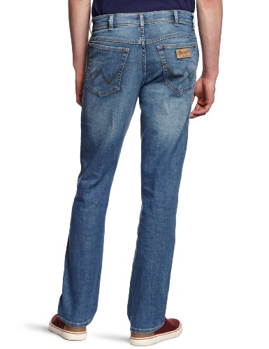 Wrangler Herren Jeans Arizona Stretch Worn Broke Blau (Worn Broke)
