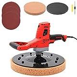 vidaXL Cazzuola Elettrica Portatile Semplifica Lavoro Elevata Affidabilità Resistente Durevole con Spazzole Lucidatrice Levigatrice Livellatrice 710 W