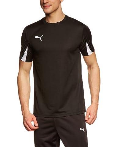 Puma Team Maillot football homme Noir/Blanc FR : M (Taille Fabricant : M)