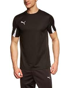 PUMA Herren T-Shirt Team, Black/White, S, 701269 03