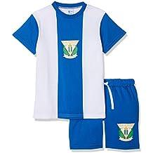 CD Leganés Pijleg Pijama Corta, Infantil, Multicolor (Blanco/Azul), ...