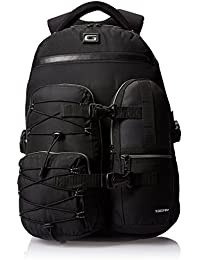 Gear Travel Polyester 45 Ltrs Black and Grey Lap Top Bag (TLP00CRGO0104)