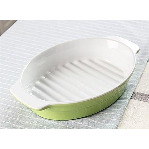11 pollici tondo ceramica le onde binaurali