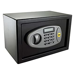 Yale Small Sized Electronic Home Safe with LCD screen