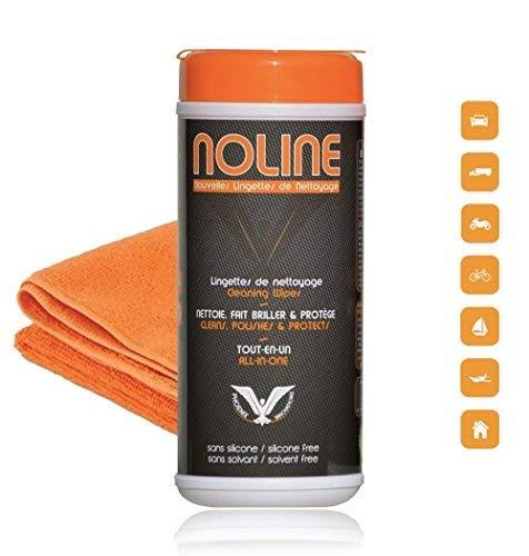 569cbfef5b5 NoLine Pack 30 lingettes + microfibre prémium offerte