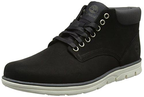 Timberland Herren Bradstreet Leather Chukka Boots, Schwarz (Black Nubuck), 46 EU (Haut-leder-schuhe)