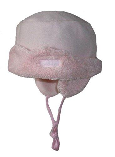 Dolli Fleecehut Bindehut Babyhut rosa Gr. 45